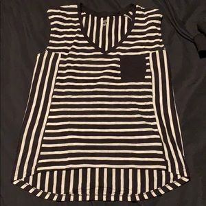 Ana brand stripes t shirt